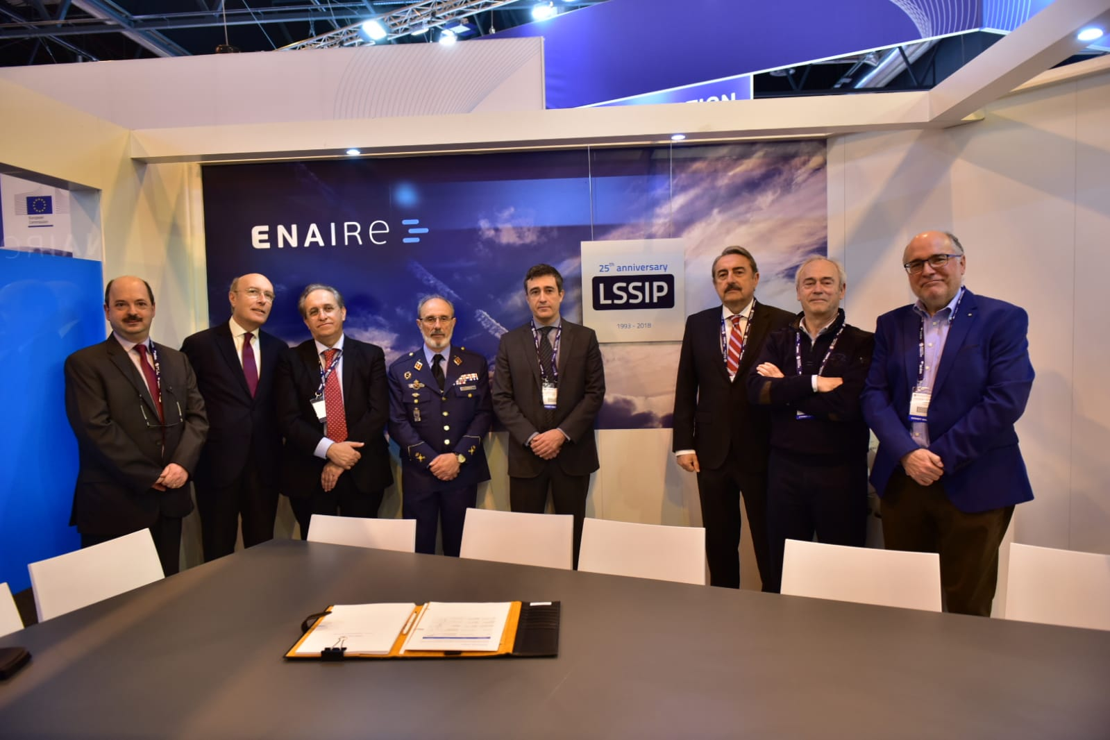 ENAIRE signs the Local Plan for Single European Sky implementation on the 25th anniversary of its creation