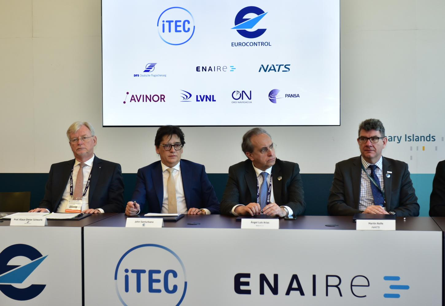 iTEC partners and EUROCONTROL to jointly develop interoperability capabilities essential for a Single European Sky