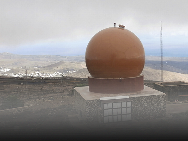 ENAIRE brings a new radar into service on the island of Lanzarote